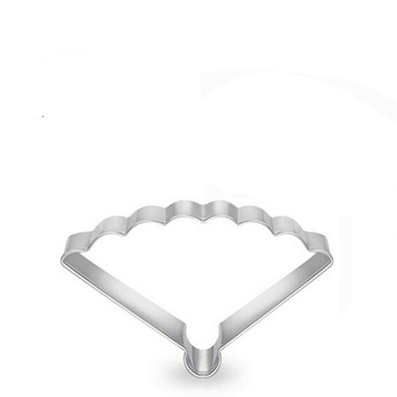Chinese Fan Cookie Cutter - 8cm - Stainless Steel - Crafty Cookie Cutters