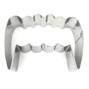 Vampire Teeth Cookie Cutter - Stainless Steel - Crafty Cookie Cutters