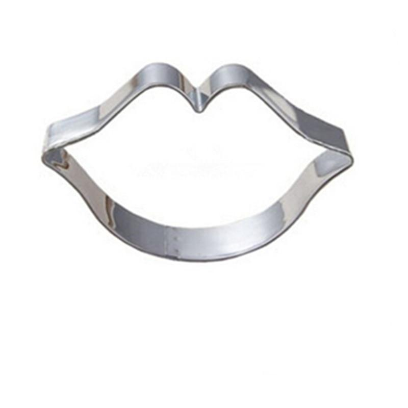 Lips Cookie Cutter - 8cm - Stainless Steel - Crafty Cookie Cutters