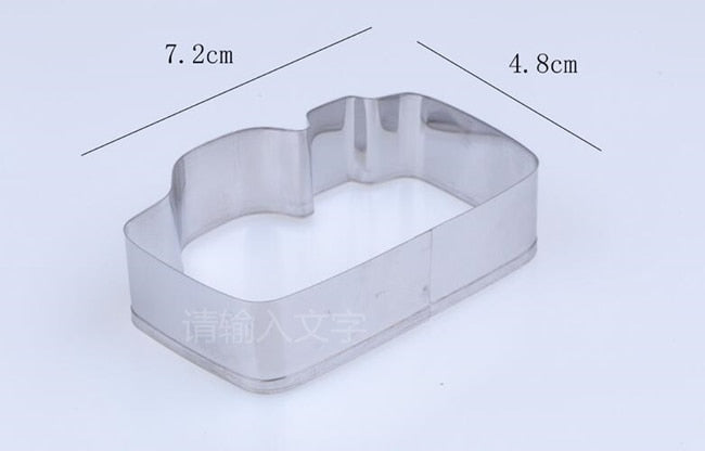 Camera Cookie Cutter - 7cm - Stainless Steel - Crafty Cookie Cutters