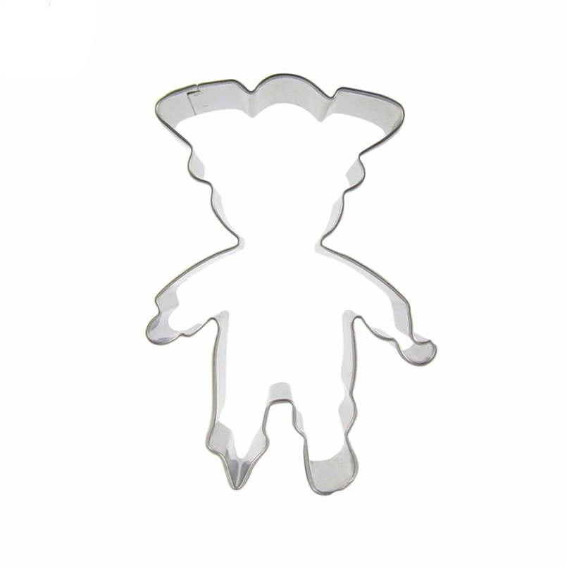 Goblin Cookie Cutter - 11cm - Stainless Steel - Crafty Cookie Cutters