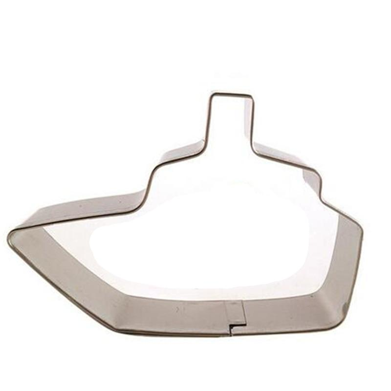 Boat Cookie Cutter - 8cm - Stainless Steel - Crafty Cookie Cutters