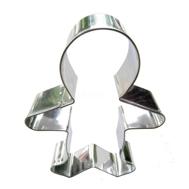 Gingerbread Person Cookie Cutter - 14cm - Stainless Steel - Crafty Cookie Cutters