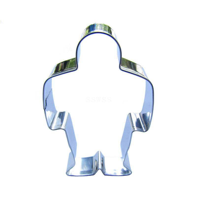 Standing Person Cookie Cutter  - 11cm - Stainless Steel - Crafty Cookie Cutters