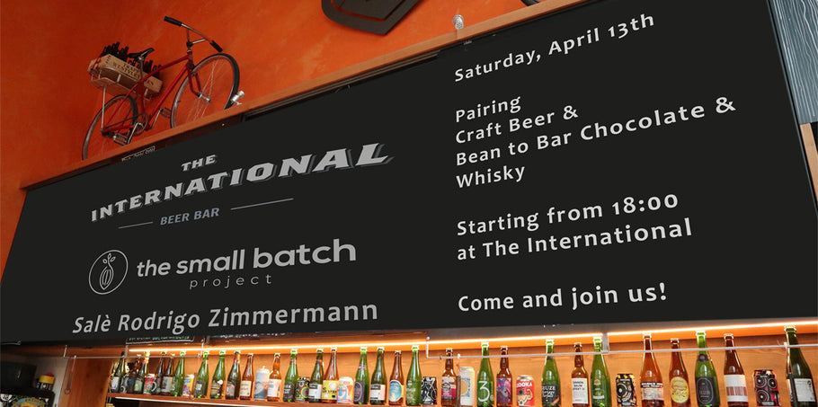 Craft Bier & Whisky mit Bean-to-Bar Schokolade am 13. April 2019 in Zürich