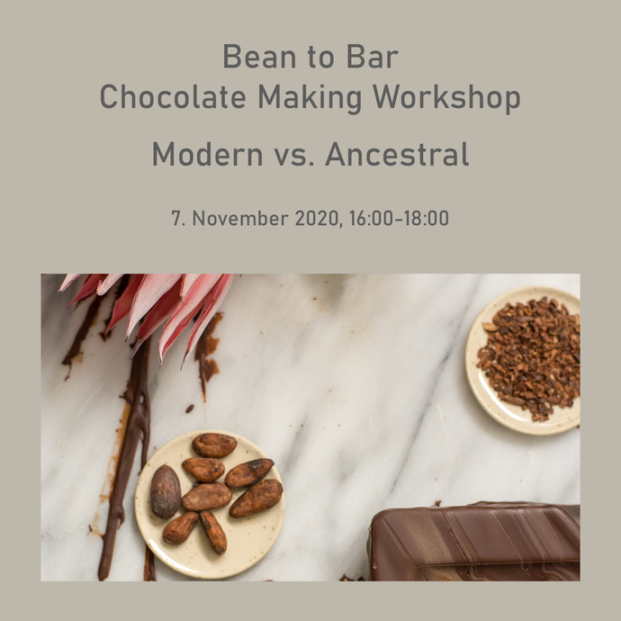 7. November: Bean to Bar Chocolate Making Workshop