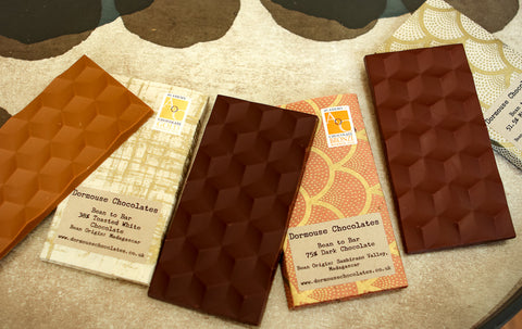 Dormouse Chocolate Diverse bars