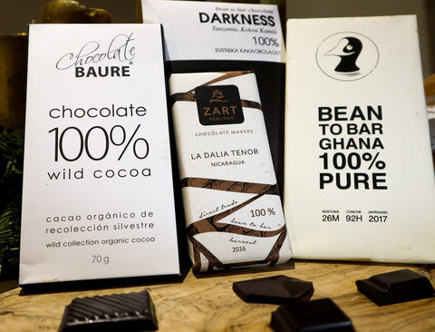 Wintersolstice dark chocolate tasting