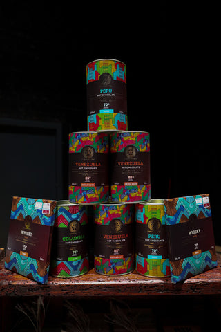 Chocolate Tree von Schottland mit Hot Chocolate