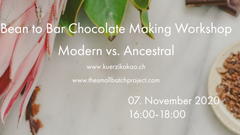 Kürzi Kakao & The small batch bean to bar chocolate workshop