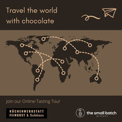 Travel the world with chocolate