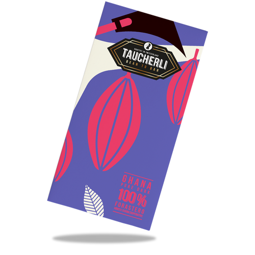 Taucherli bean to bar 100% Ghana