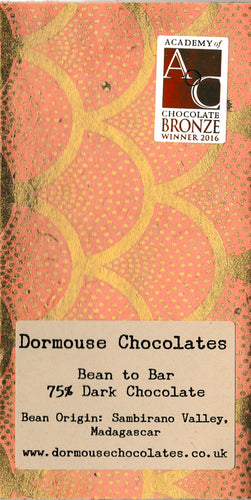 Dormouse Chocolates 75% Sambriano Valley, Madagascar