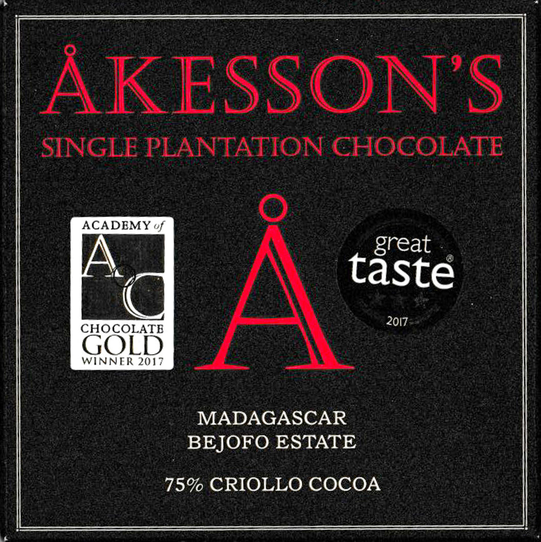 Akesson's Madagascar Bejofo Estate 75%
