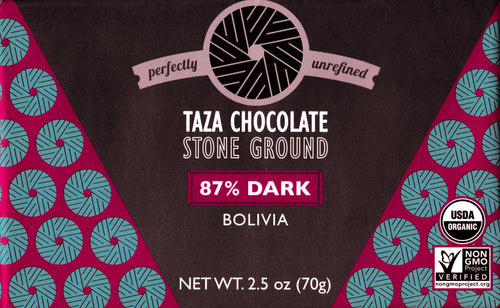 Taza Chocolate Stone Ground Bolivia 87%