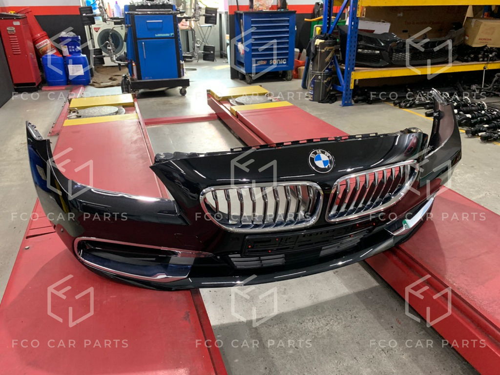 Used Genuine BMW F06 Front Bumper 51117395703 with Parking