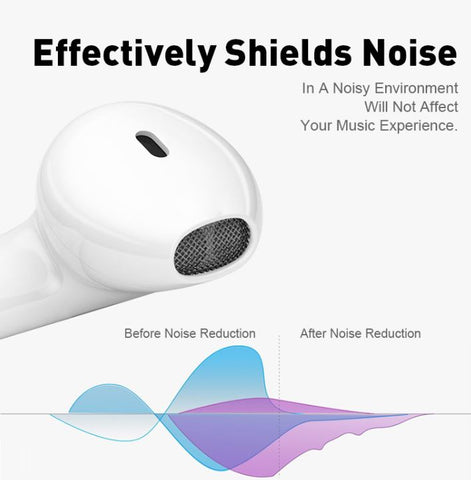 Glossy White Airpods Function