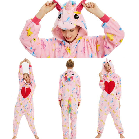 Adult Love Unicorn Onesies