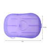 Purple Travel Soap Paper Size