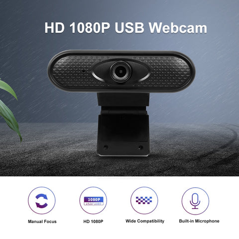 Black Webcam Display