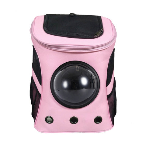Pink Cat Bubble Backpack