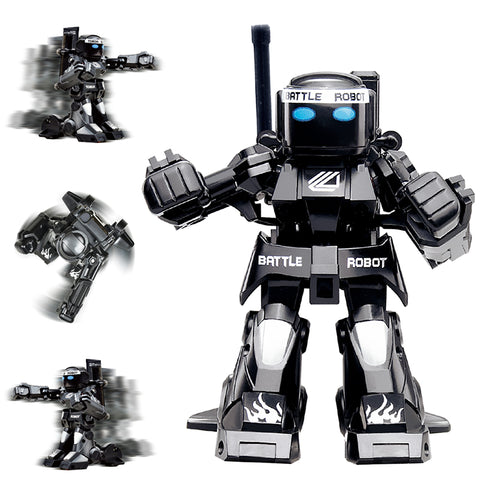 Black R/C Fighting Robots