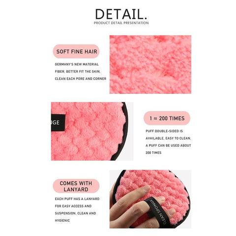 Reusable Remover Pad Function