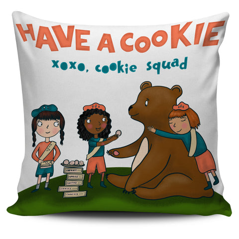 Girl Scout Cookie Pillow Cover