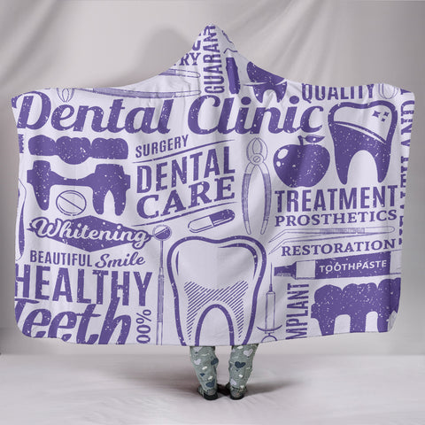All about Dental Care 2-in-1 Blanket