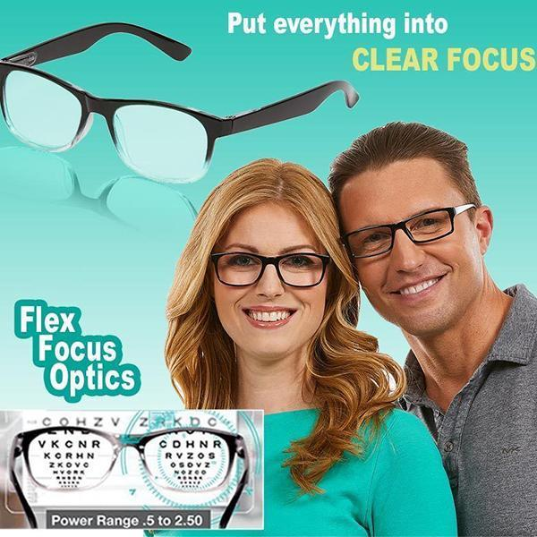 65% OFF Today - Focus automatically adjusts reading glasses