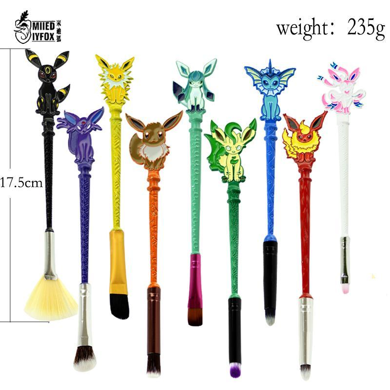 POKBRUSH™: 9 PIECE POKEMON BRUSH SET - Wolrdiscounts