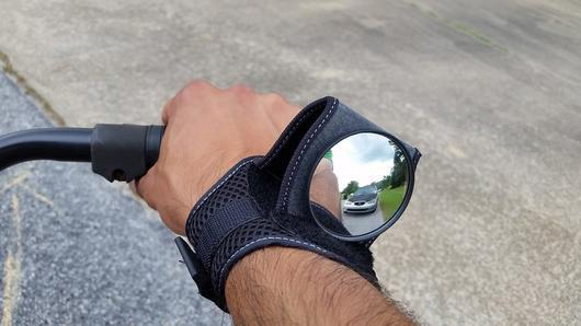 BICYCLE WRIST SAFETY REARVIEW MIRROR - Wolrdiscounts