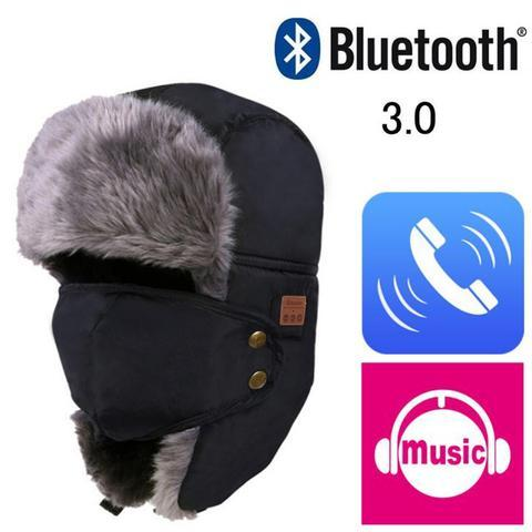 BLUETOOTH BOMBER HAT - Wolrdiscounts