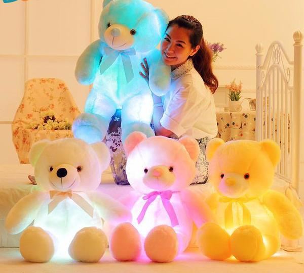 Adorable LED-Lights Glowing Teddy Bear