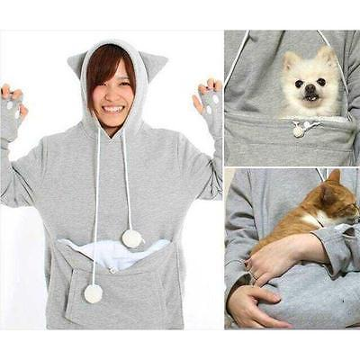 HOODIE WITH CUDDLE POUCH - Wolrdiscounts