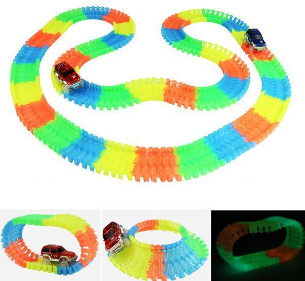 Magic Glow Racing Track Set SALE - Wolrdiscounts