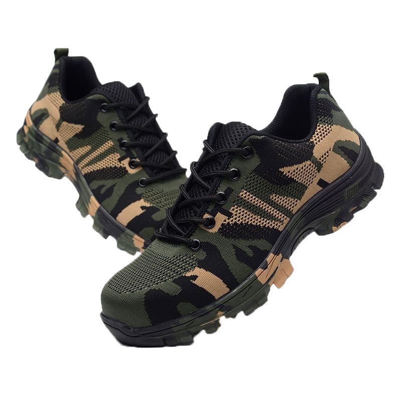 Camouflage Work & Safety Boots