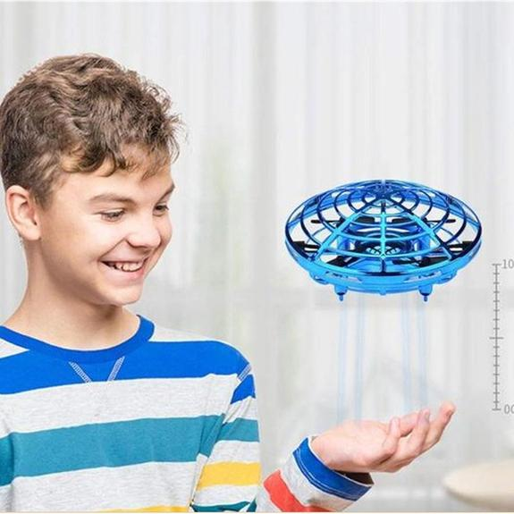 Hand Controlled Flying UFO Drone