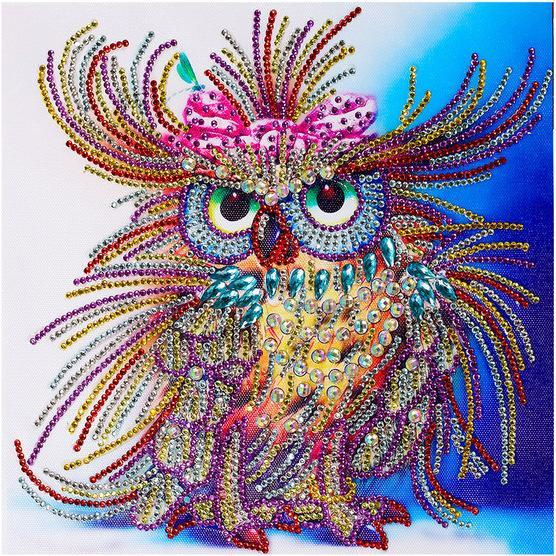 Royal Owl - 5D™ Diamond Painting Kit - Wolrdiscounts