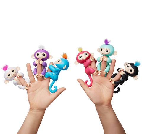 Fingerlings - Interactive Baby Monkey - Wolrdiscounts