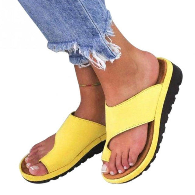 Women's Comfy Platform Sandal Shoes