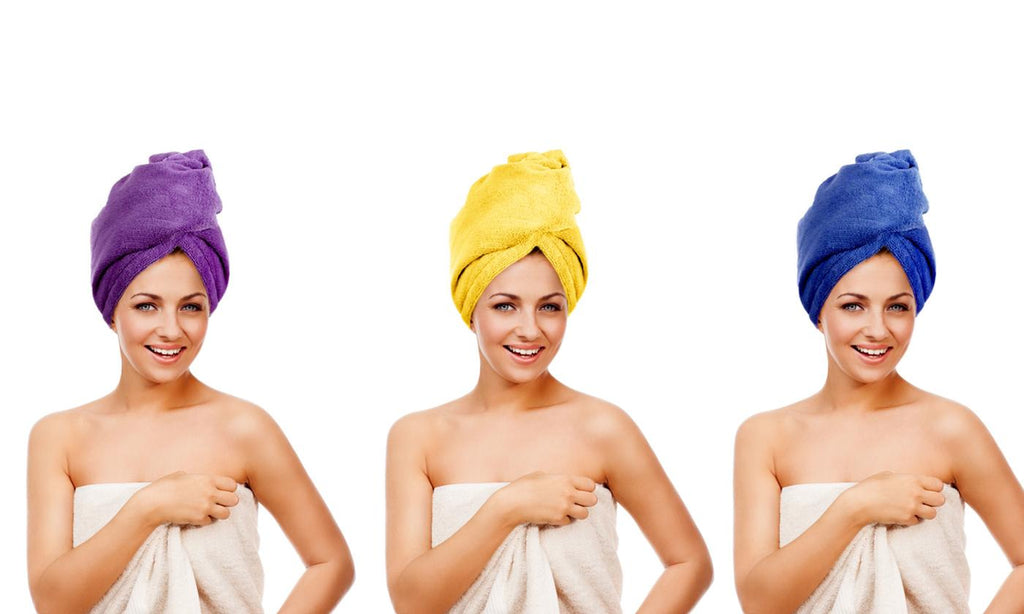 Twisty Turban Microfiber Super-Absorbent Hair Towels