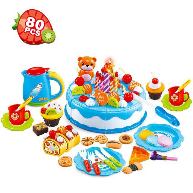 80PCS/Set DIY fruit Cake - Wolrdiscounts