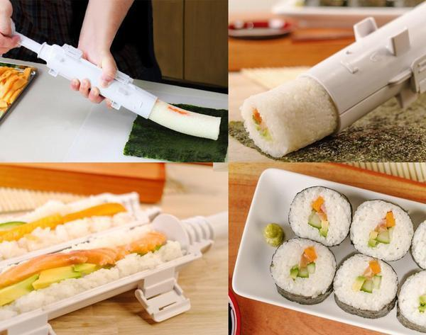 The Sushi Bazooka | All in 1 Sushi Making Machine - Wolrdiscounts