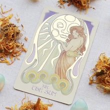 Load image into Gallery viewer, ETHEREAL VISIONS: ILLUMINATED TAROT DECK