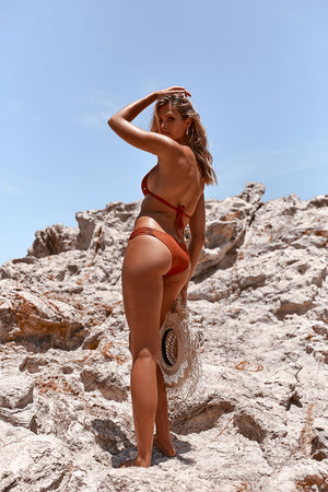 rust coloured bikini bottoms