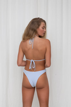 Ribbed Cheeky Bottom - Blue