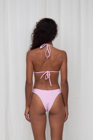 Ribbed Cheeky Bottom - Pink