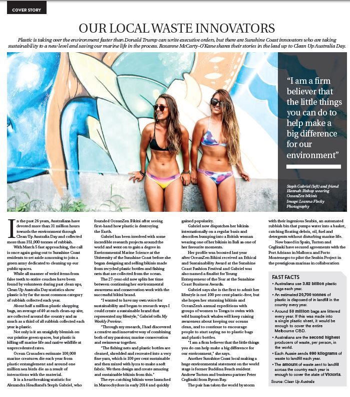 My weekly preview, oceanzen bikini, sustainable swimwear, oceanzen bikini