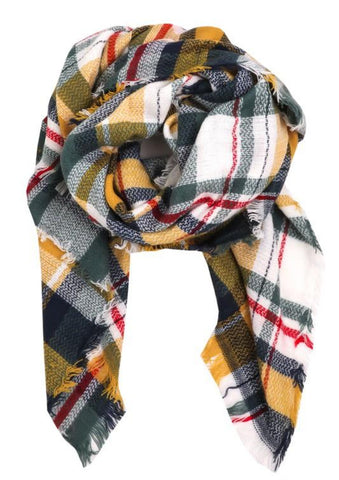 Keep Me Cozy Blanket Scarf